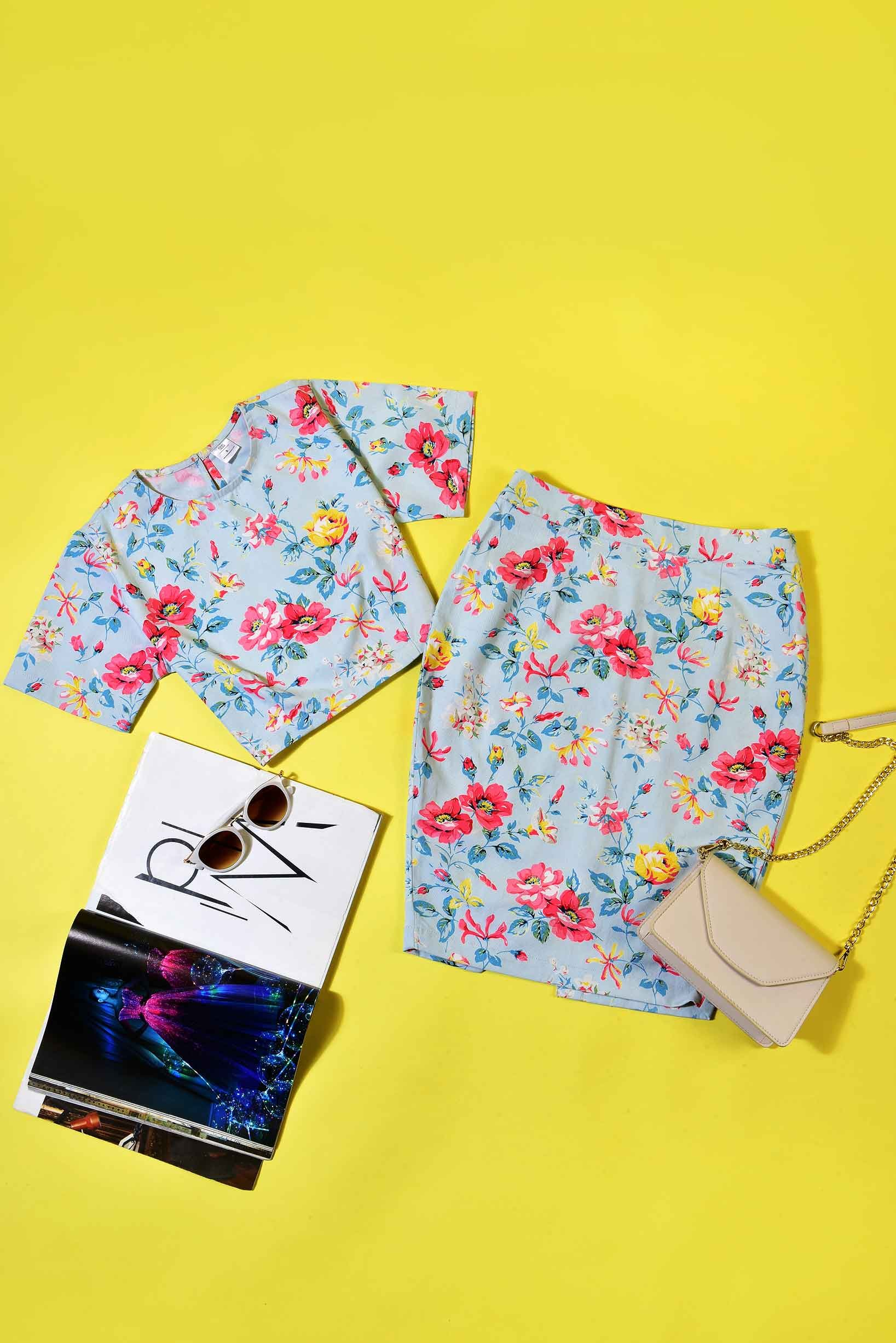 Set- In Full Bloom Outfit