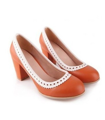 C37-Solemate Heels - Orange