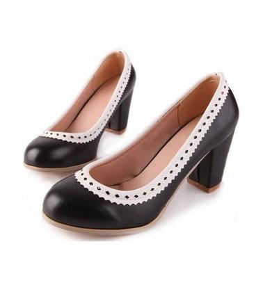 C37-Solemate Heels - Black