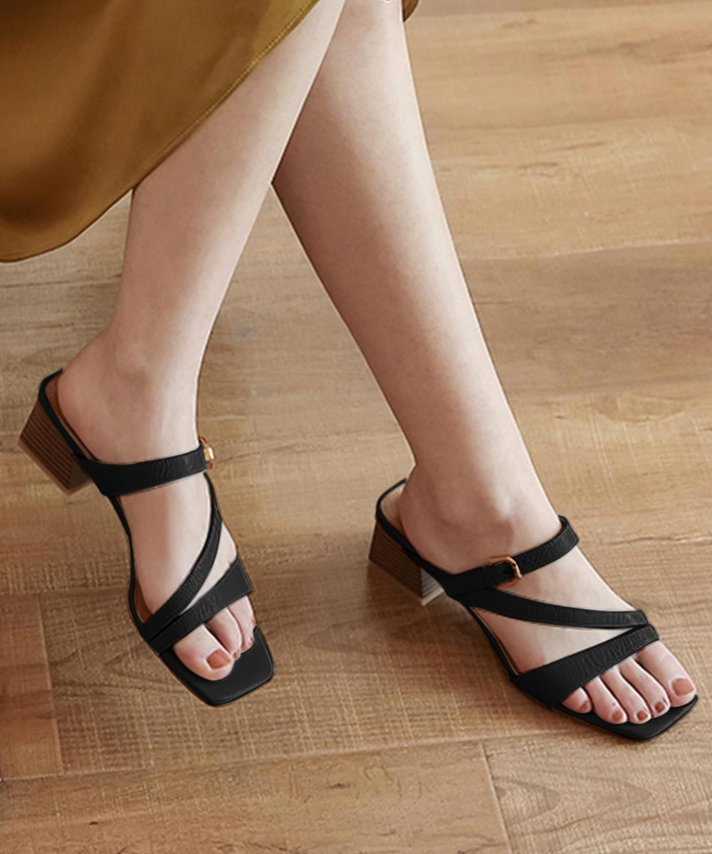Care to dance heels Black