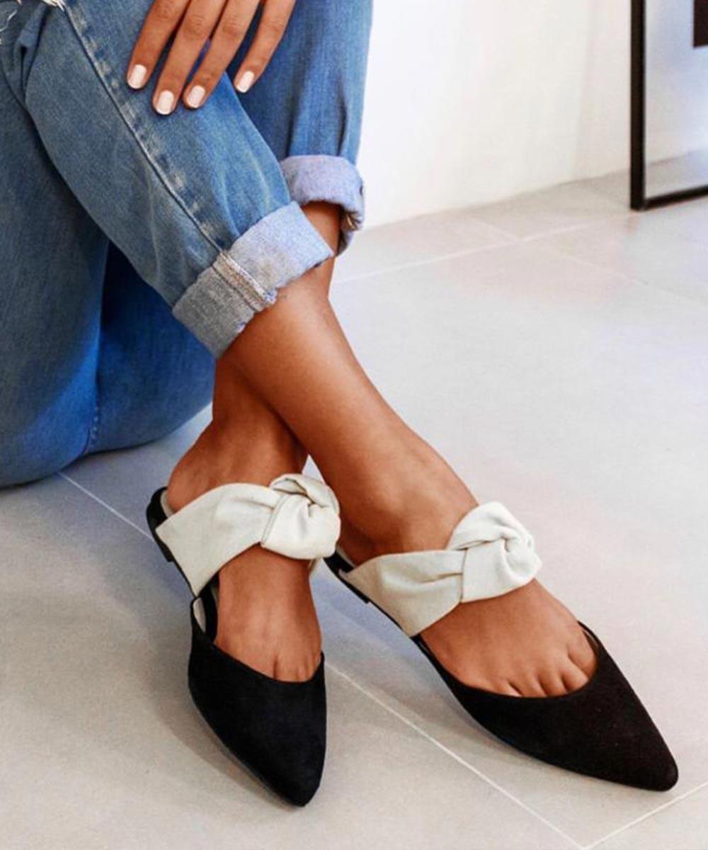 Haed to toe flats