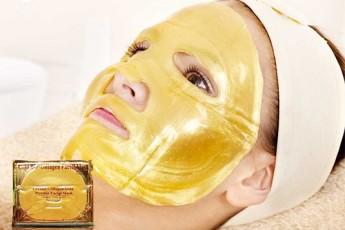 Crystal collagen Gold powder facial mask