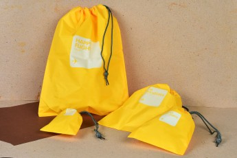 Set of 4 - Portable Storage bags Random colors