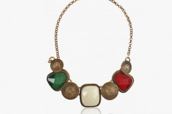 Multicoloured Alloy Necklace