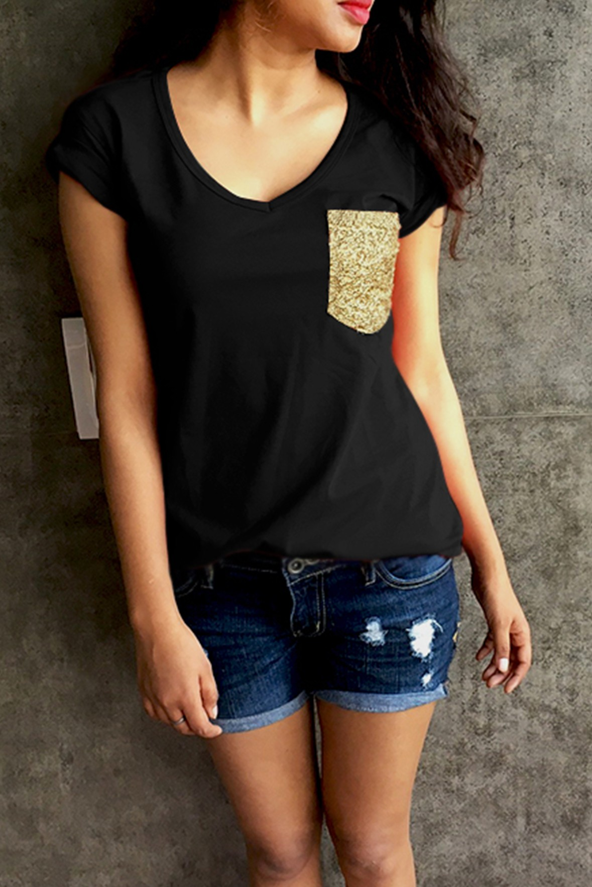 Love Is Beautiful Top Black