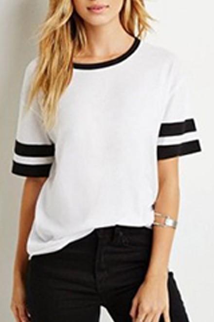 Sleeve Stripes top