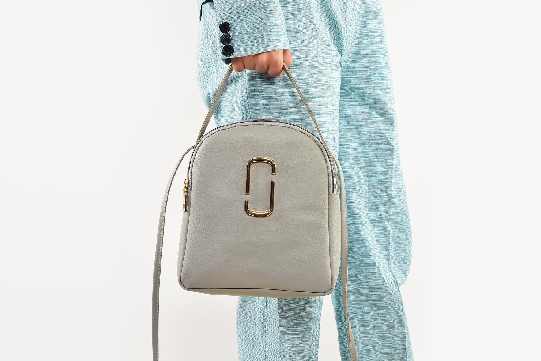 Away We Go Weekend Bag Grey
