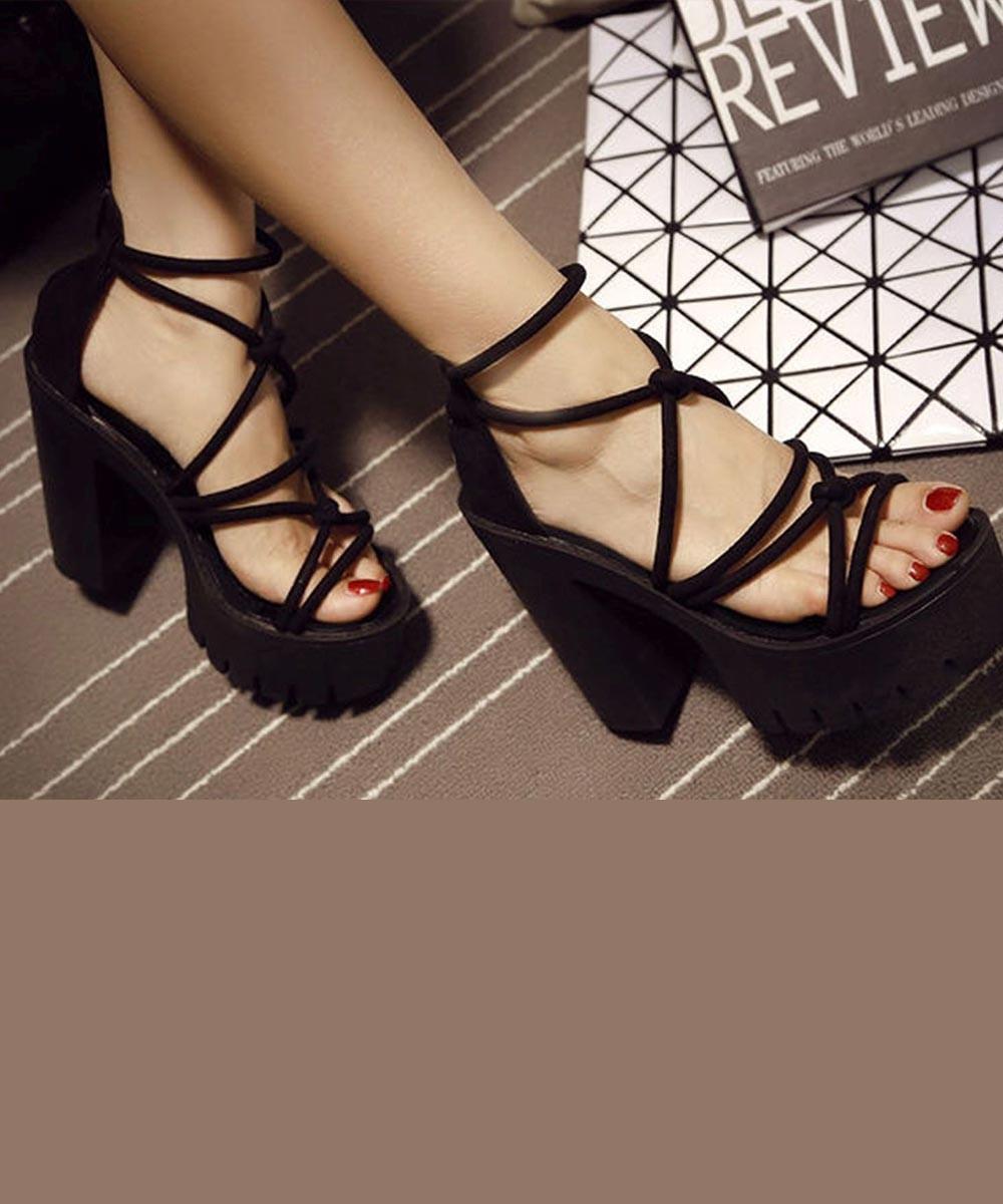 Alice strappy heels