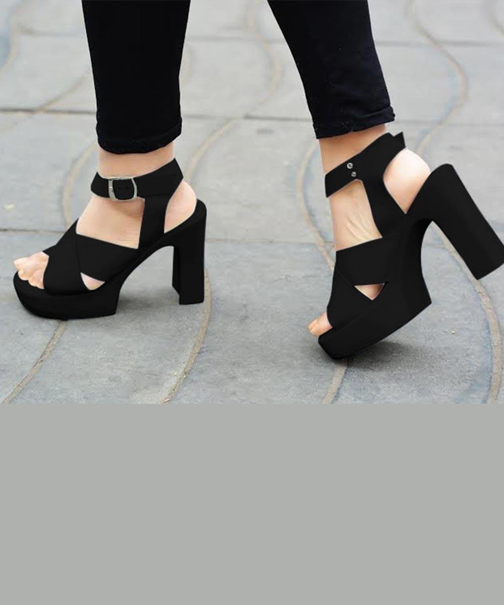 Wear It Well Black Heels