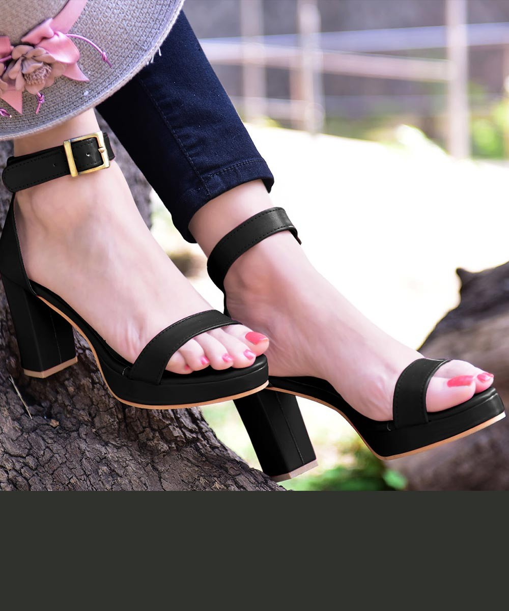 Hot Black Hot Heel