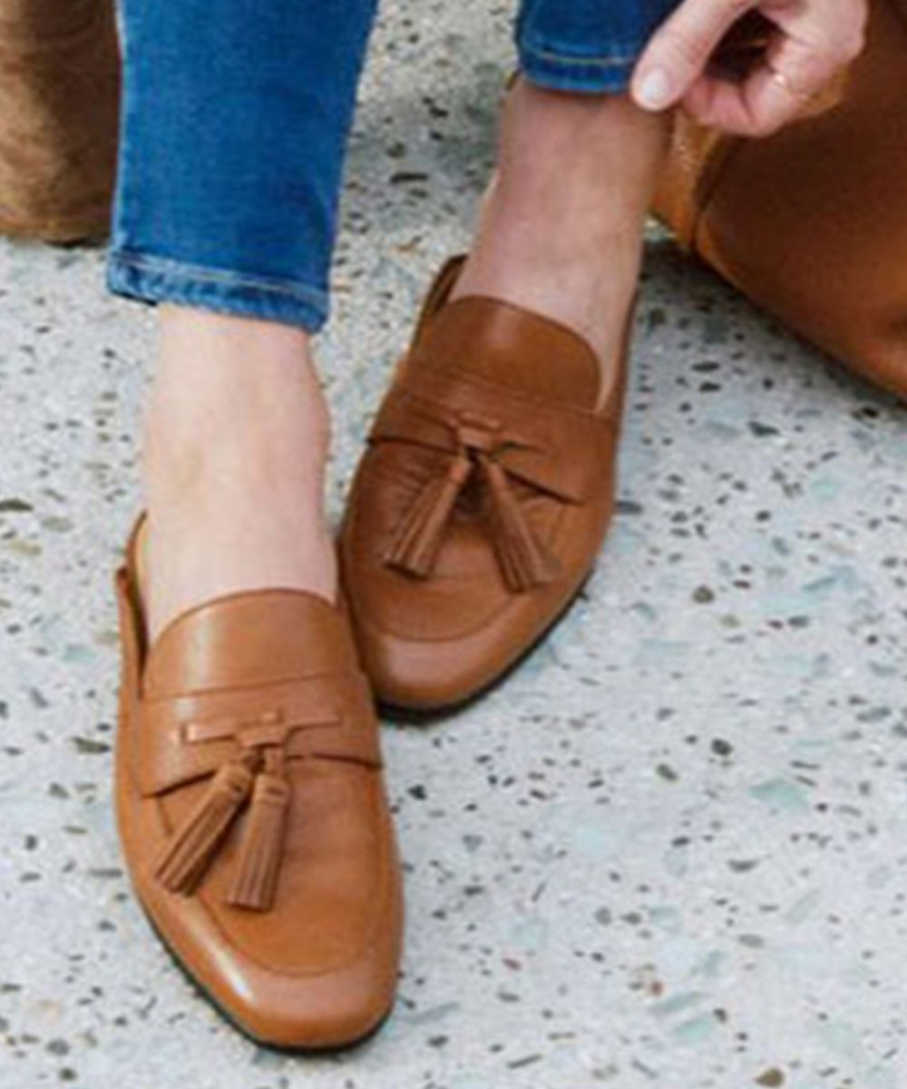 Clever so sweet flats Brown
