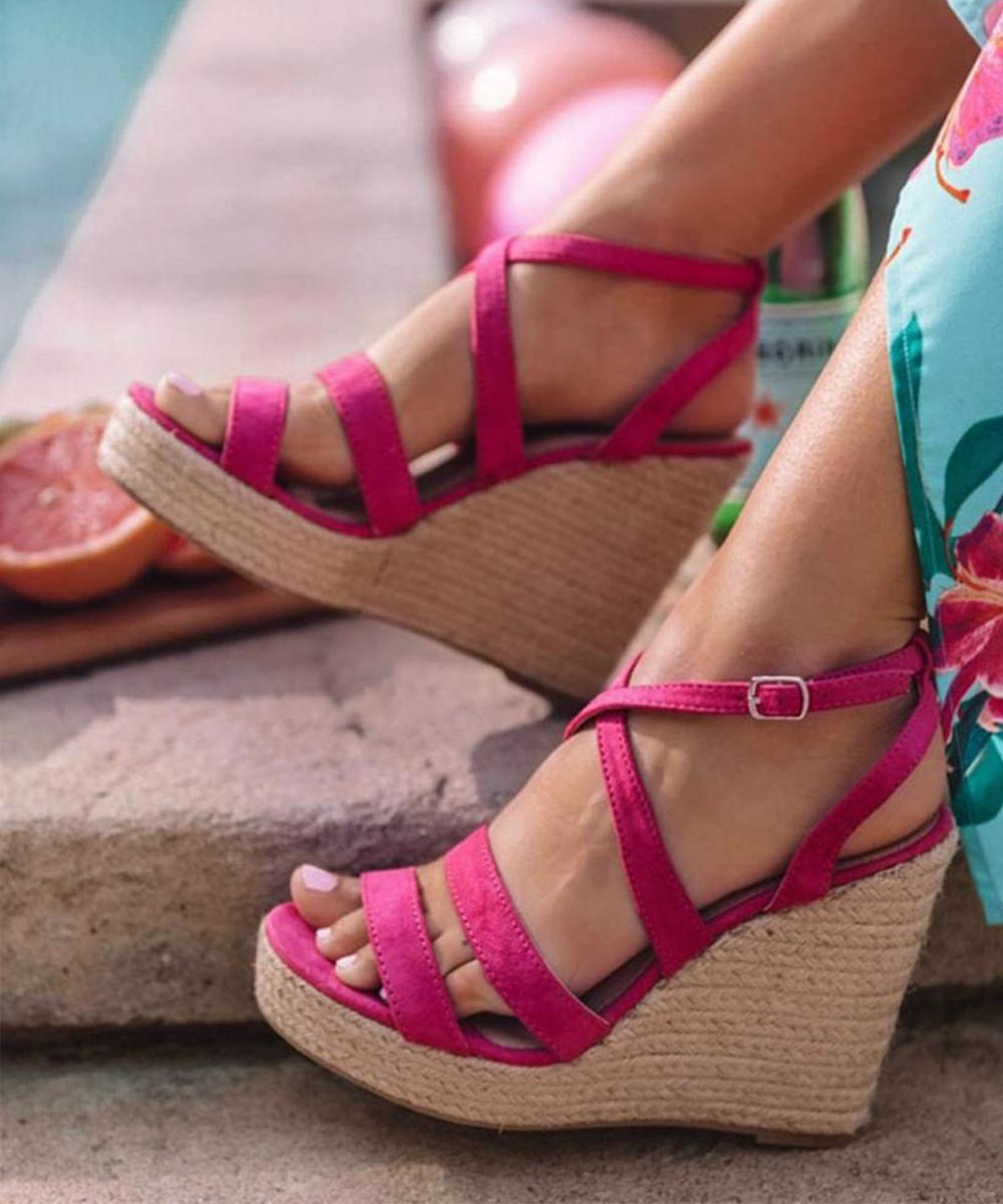 Spring on my toes wedges