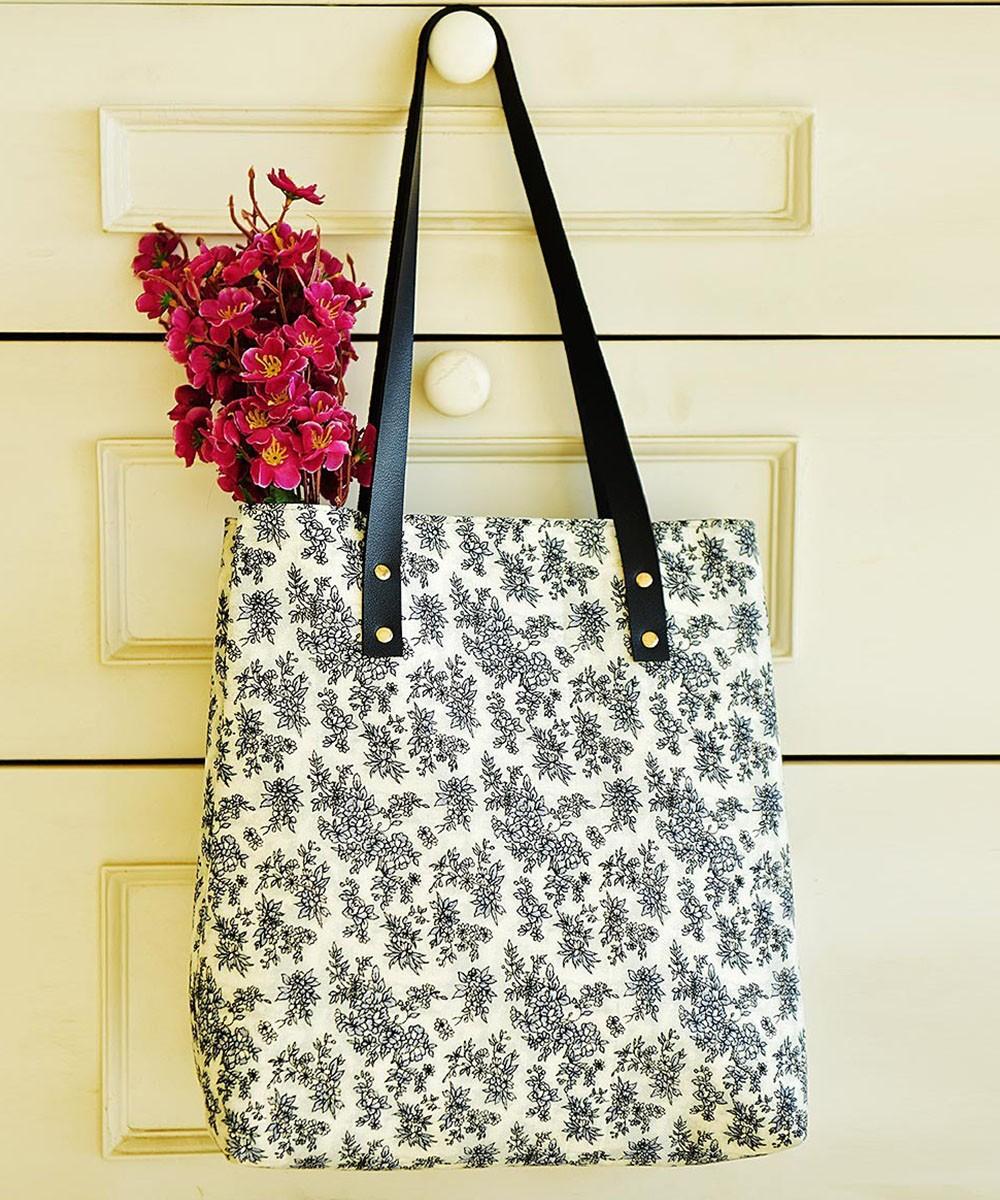 Lauren Jane floral summer bag