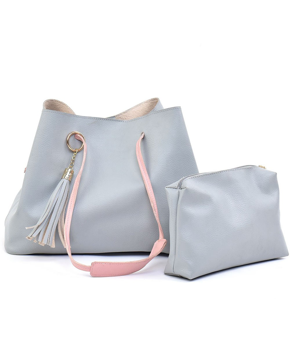 Set of 2 - All About bags Grey