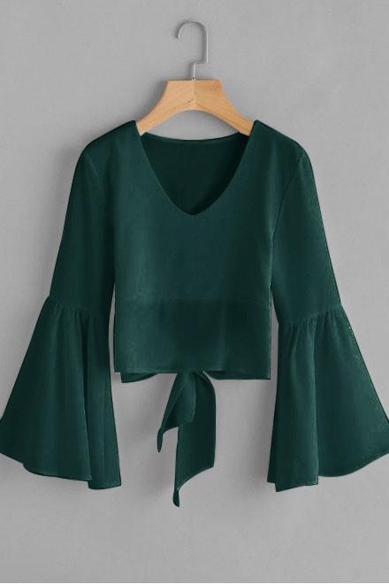 Fearless green top
