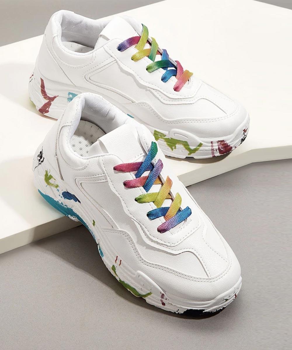 Weekend Brunch white sneakers