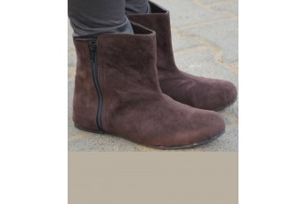 Bright hue ankle boots