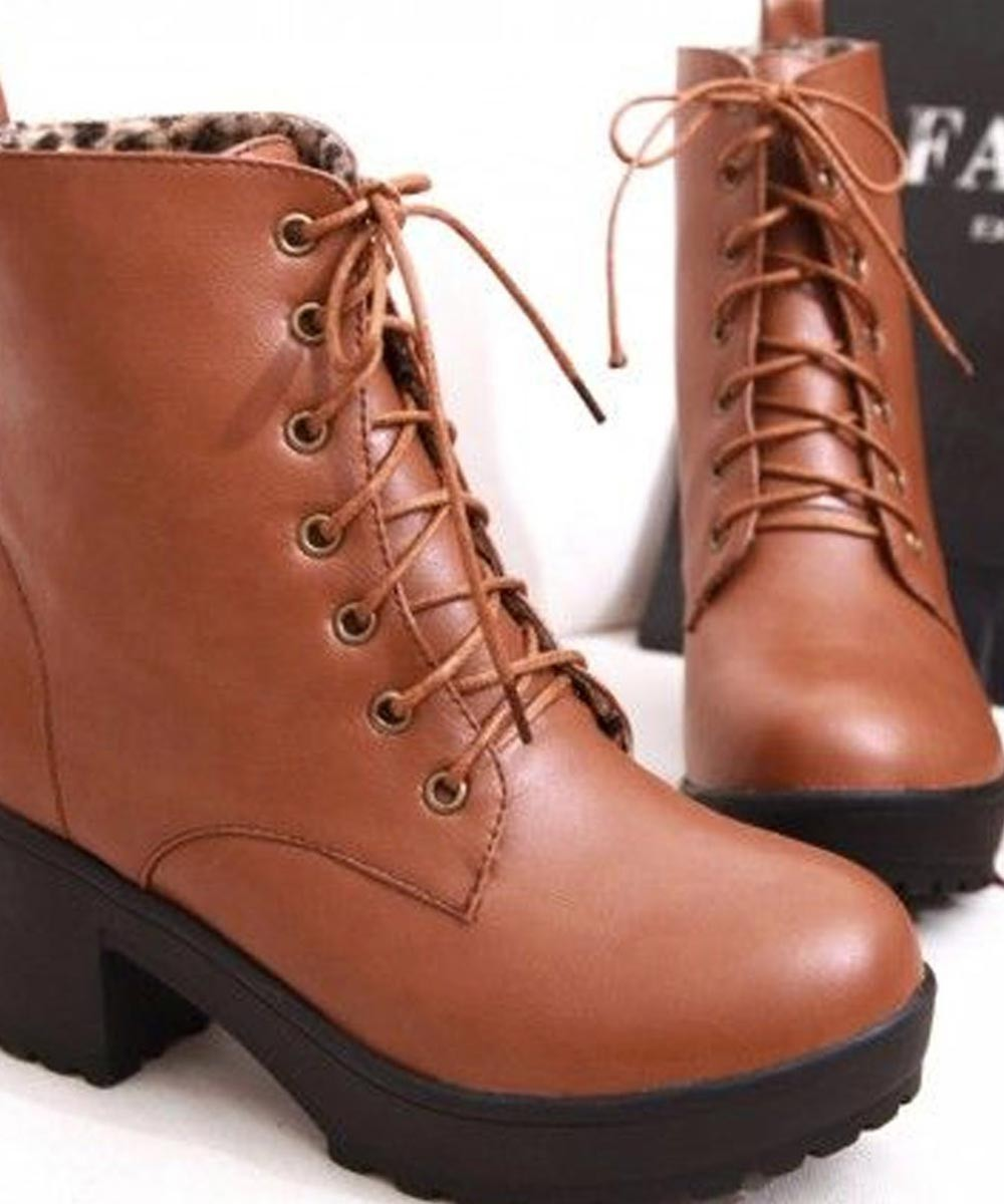 More joy boots brown