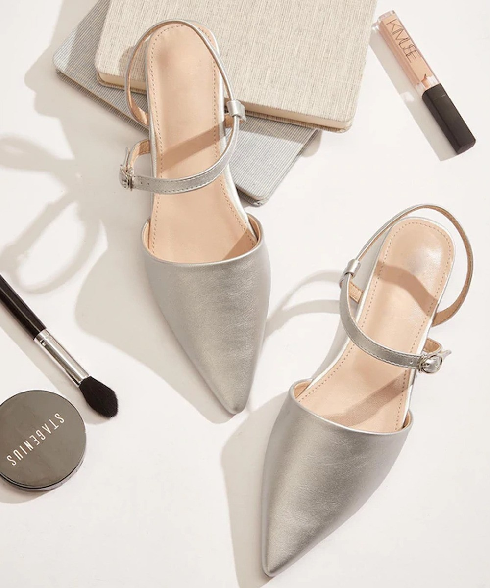 Inspired Anytime Flats silver