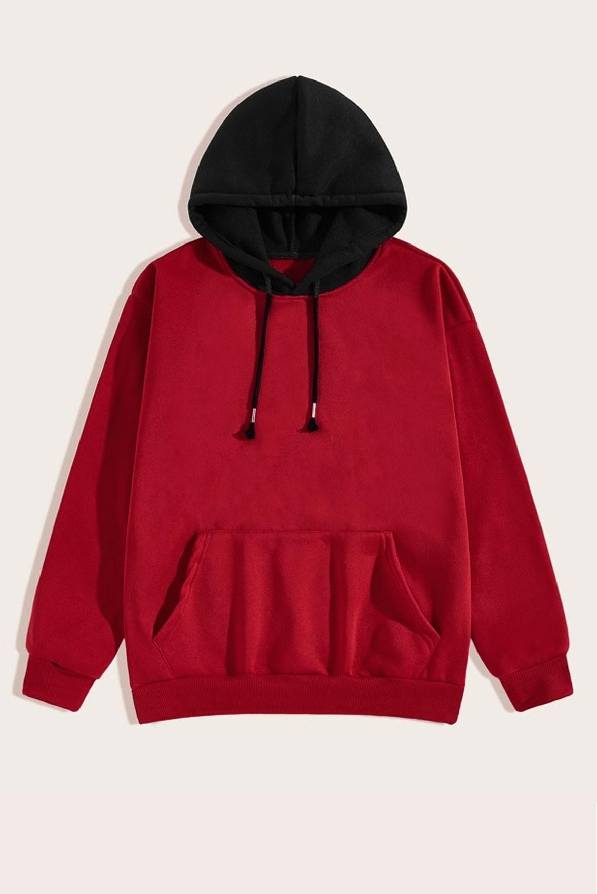 Red & Black hoodie