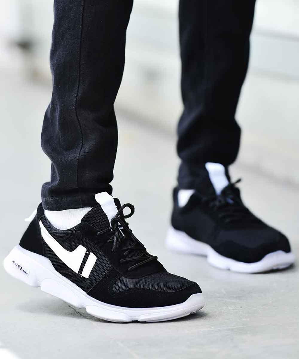 Basket Heart Black Sneakers