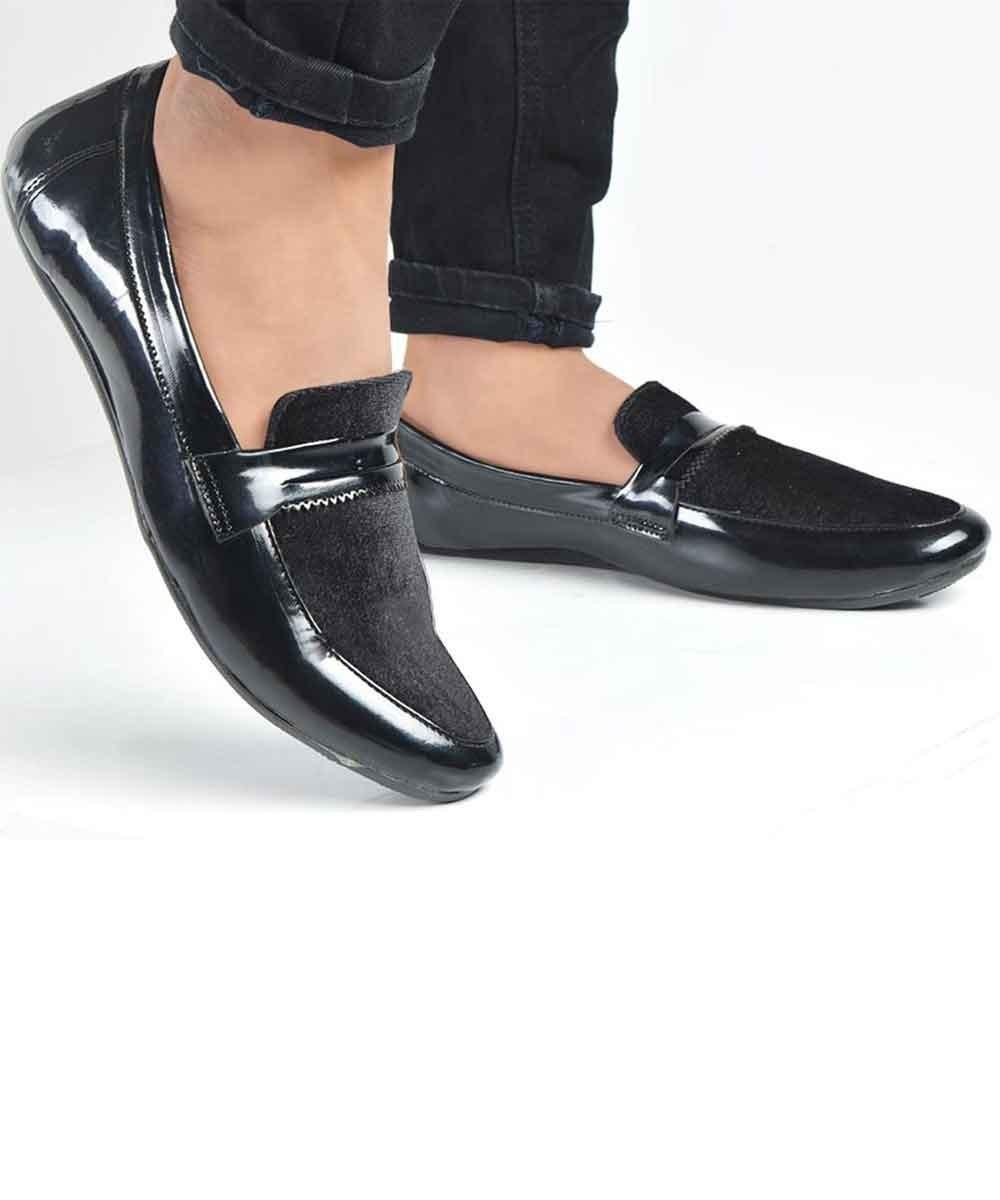 Black smash shoes