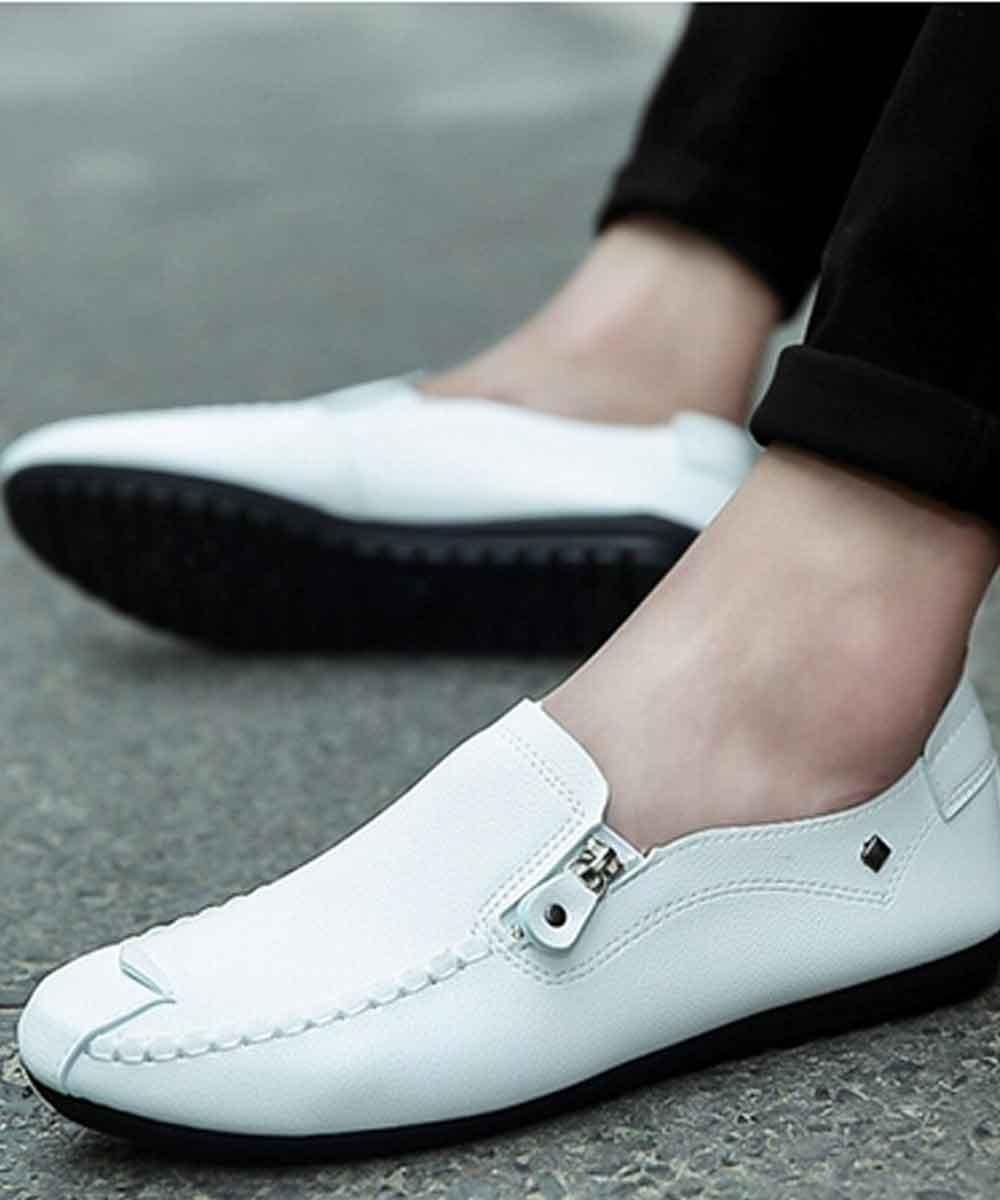 Super comfort slip on shoes ( White