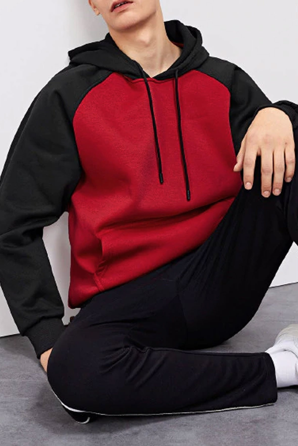 Red and Black Hoodie