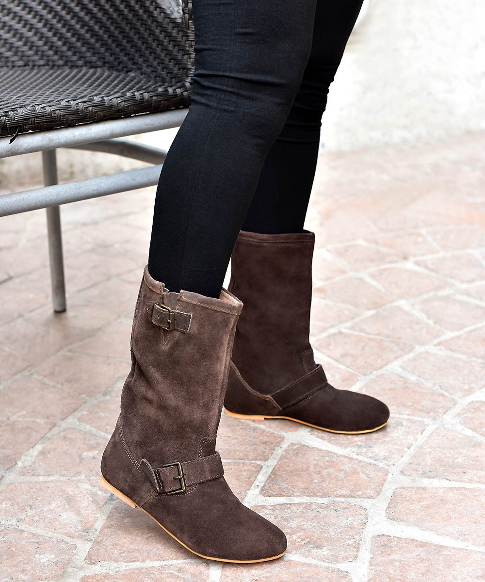 Genuine leather - For the style boots