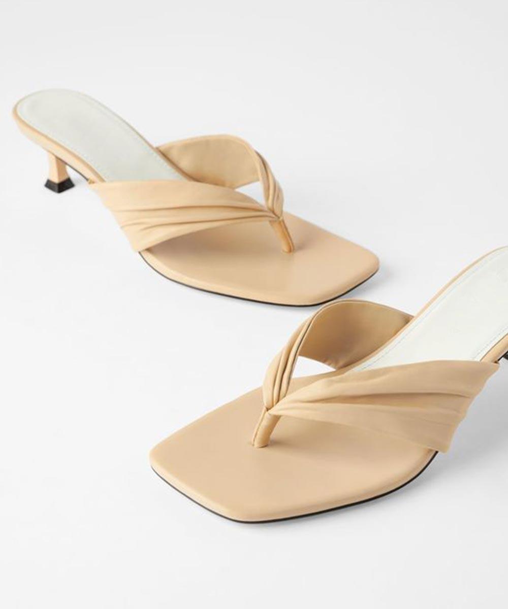 Ace of basics heels Beige