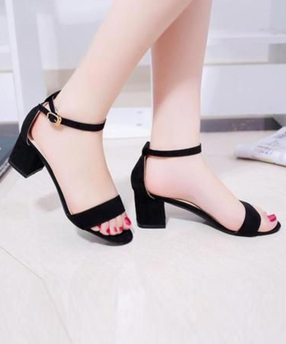 A perfect thank you heels (Black)