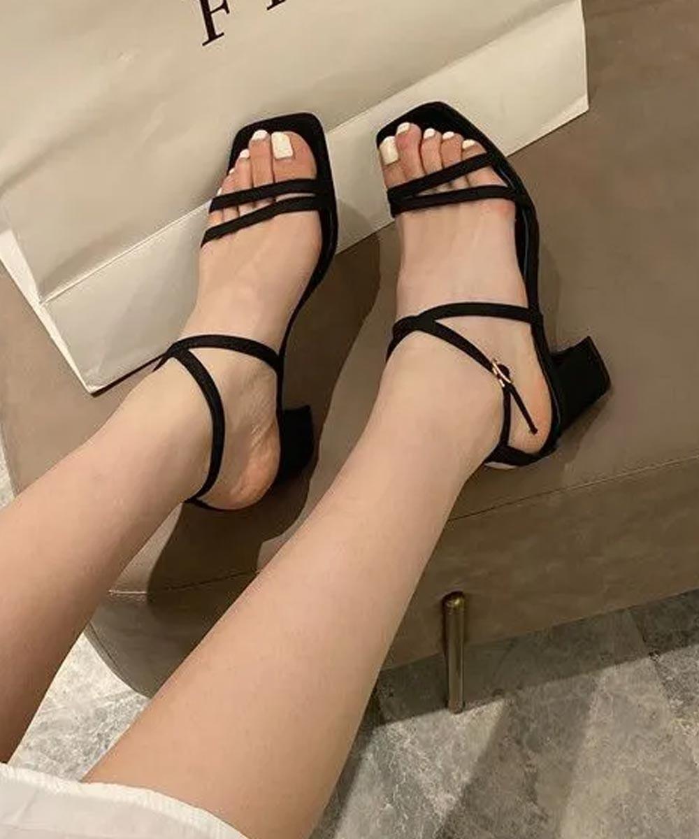 Diva black heel