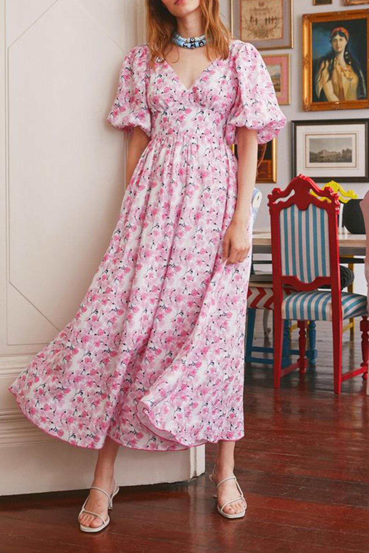 HC high tea evening dress