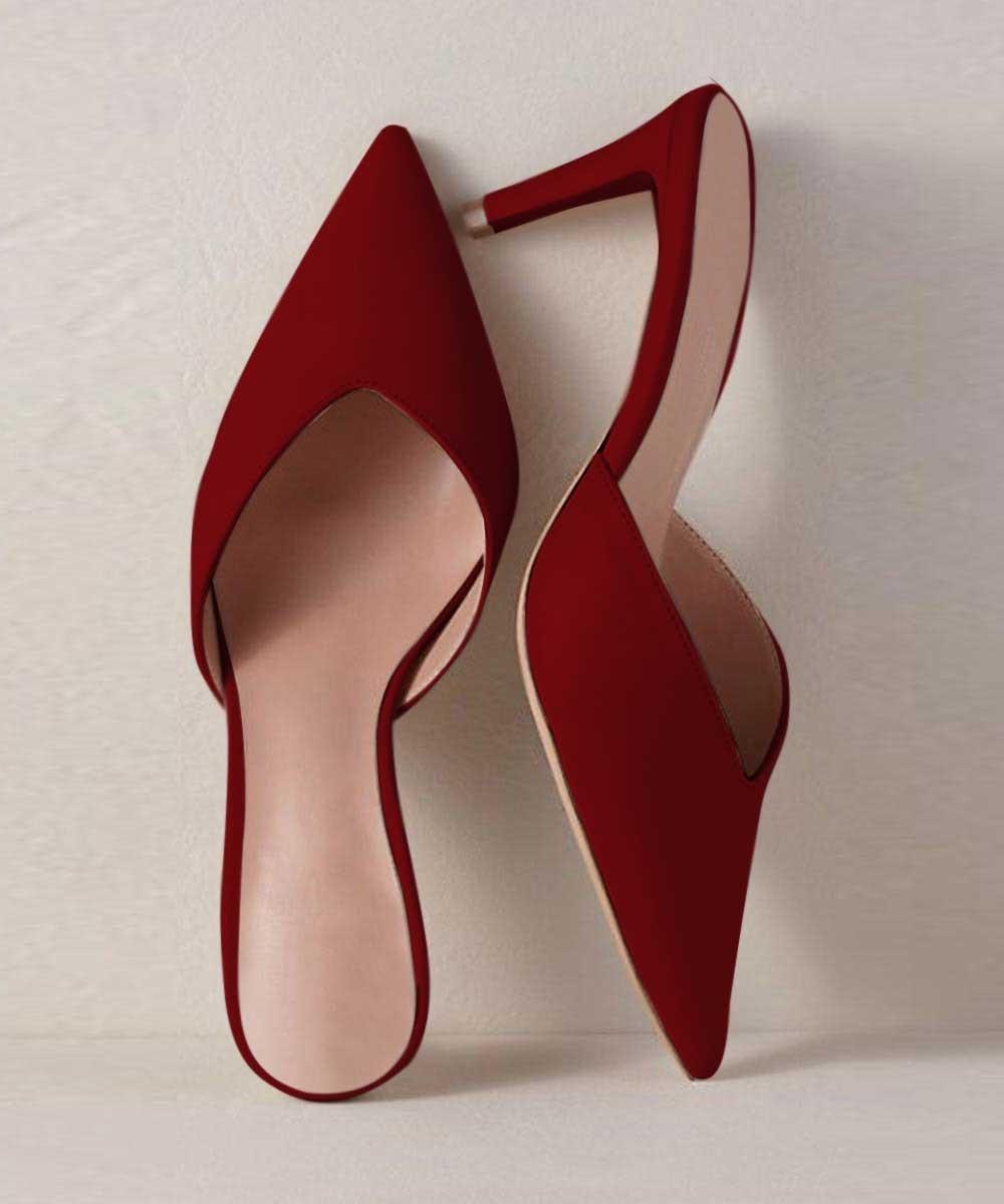 Sunday morning brunch heels Marsala