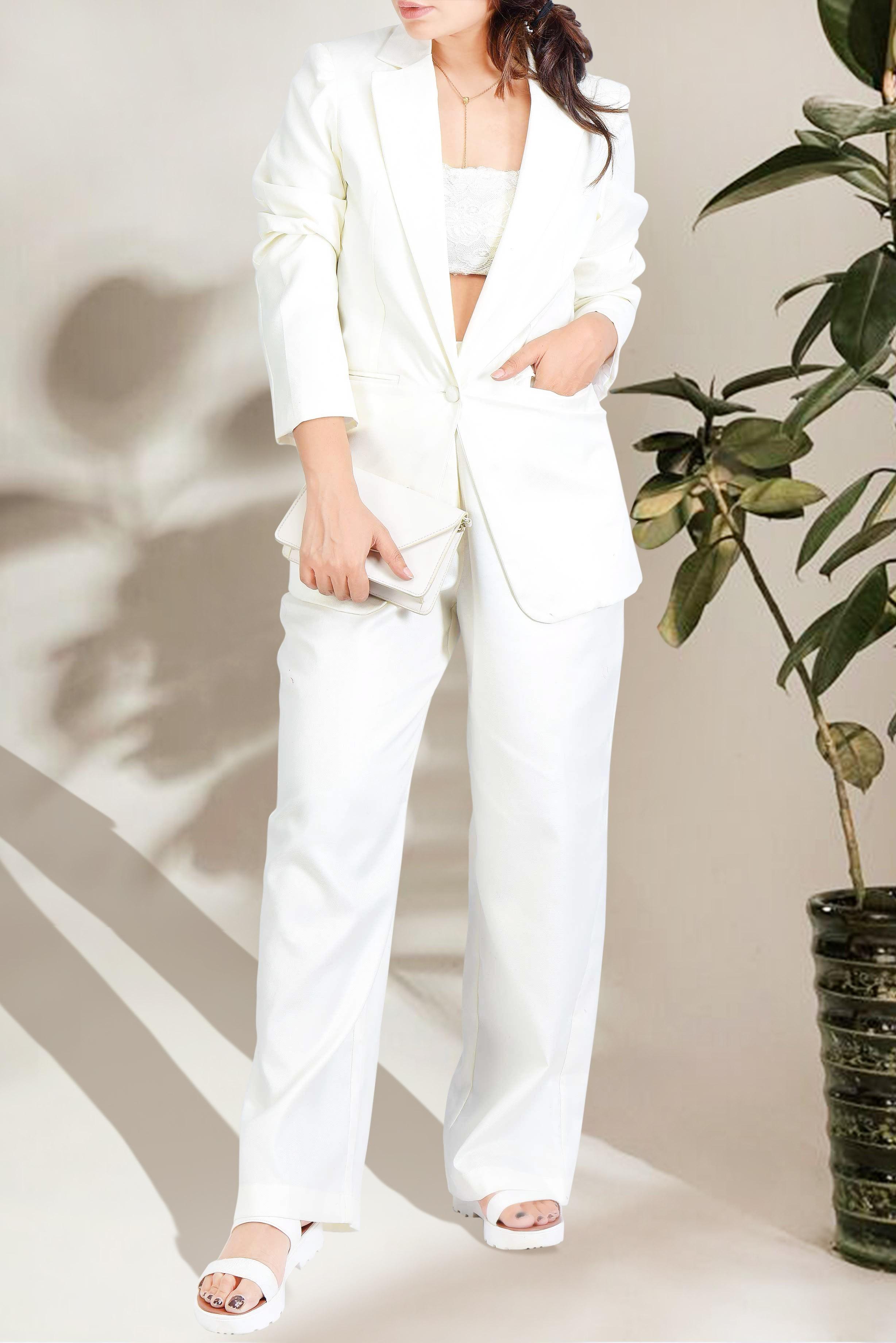 Set of two :- TBG High street chic blazer & trouser