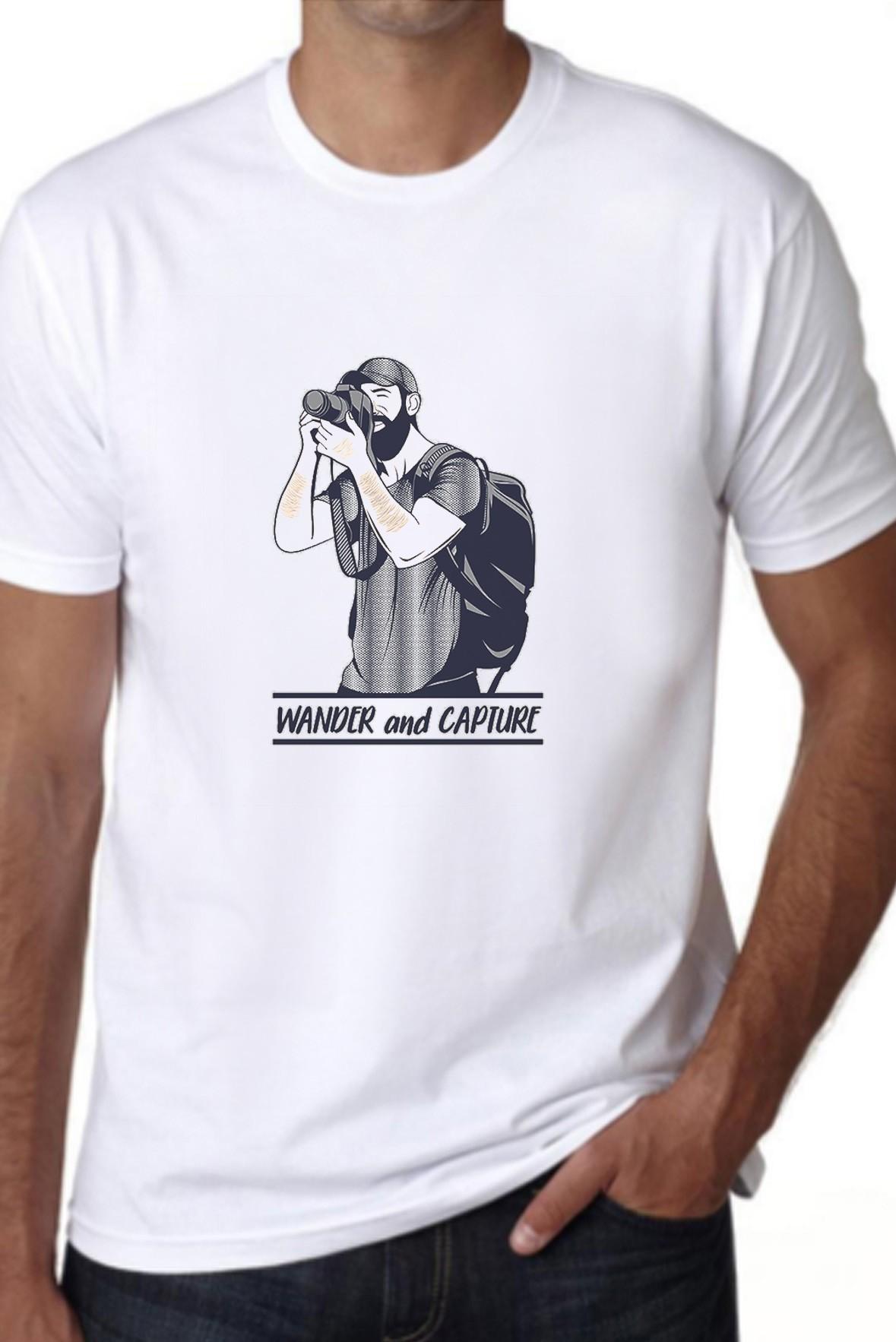 Wander and Capture Men T shirt