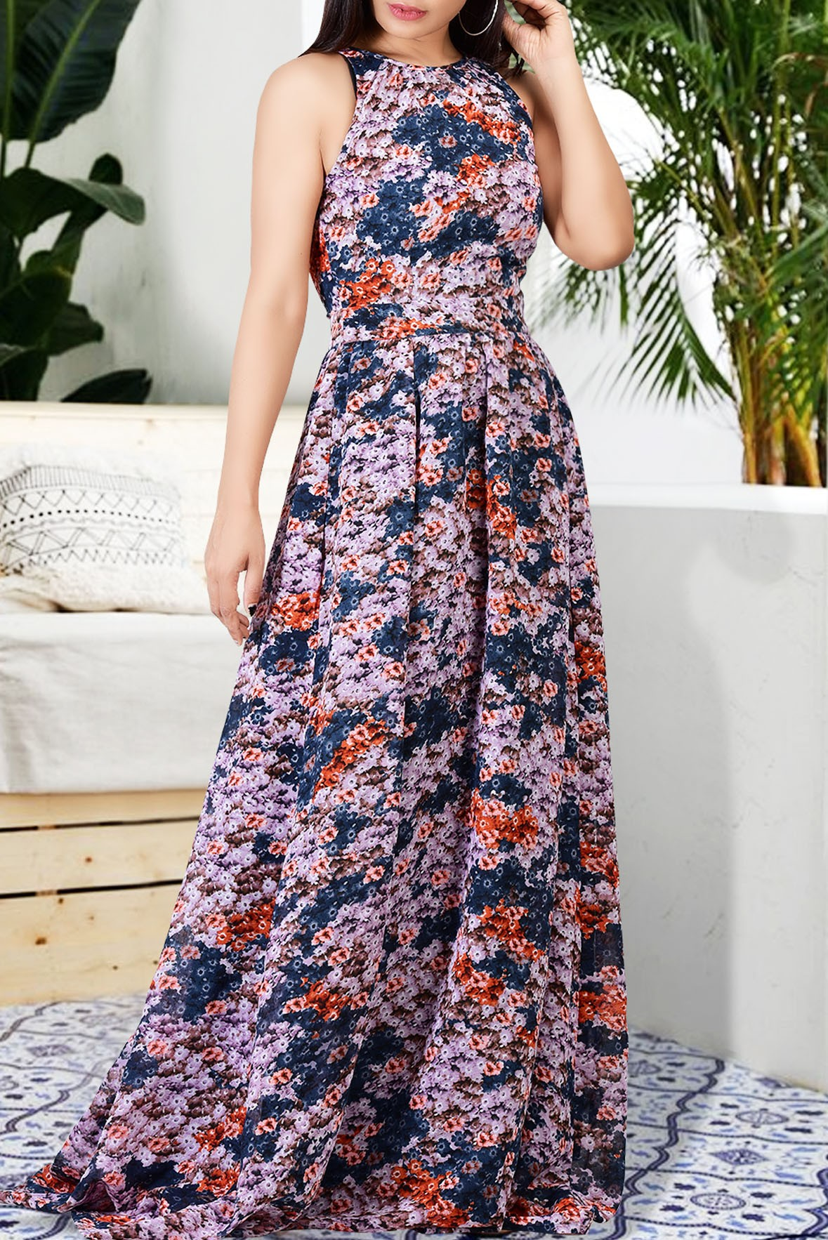 TBG Delight of my life cocktail maxi dress