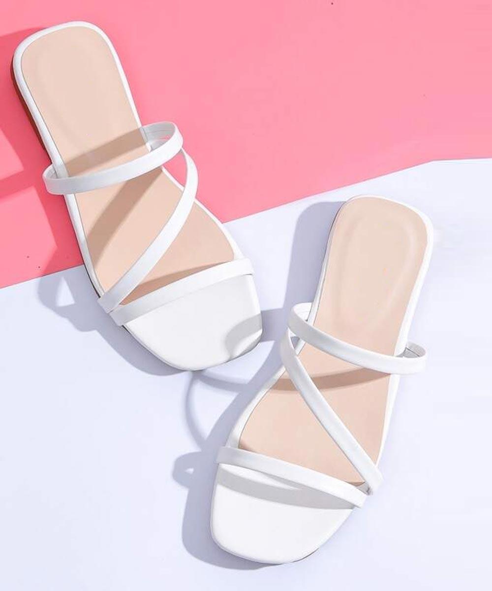 White A minimal girl wardrobe flat