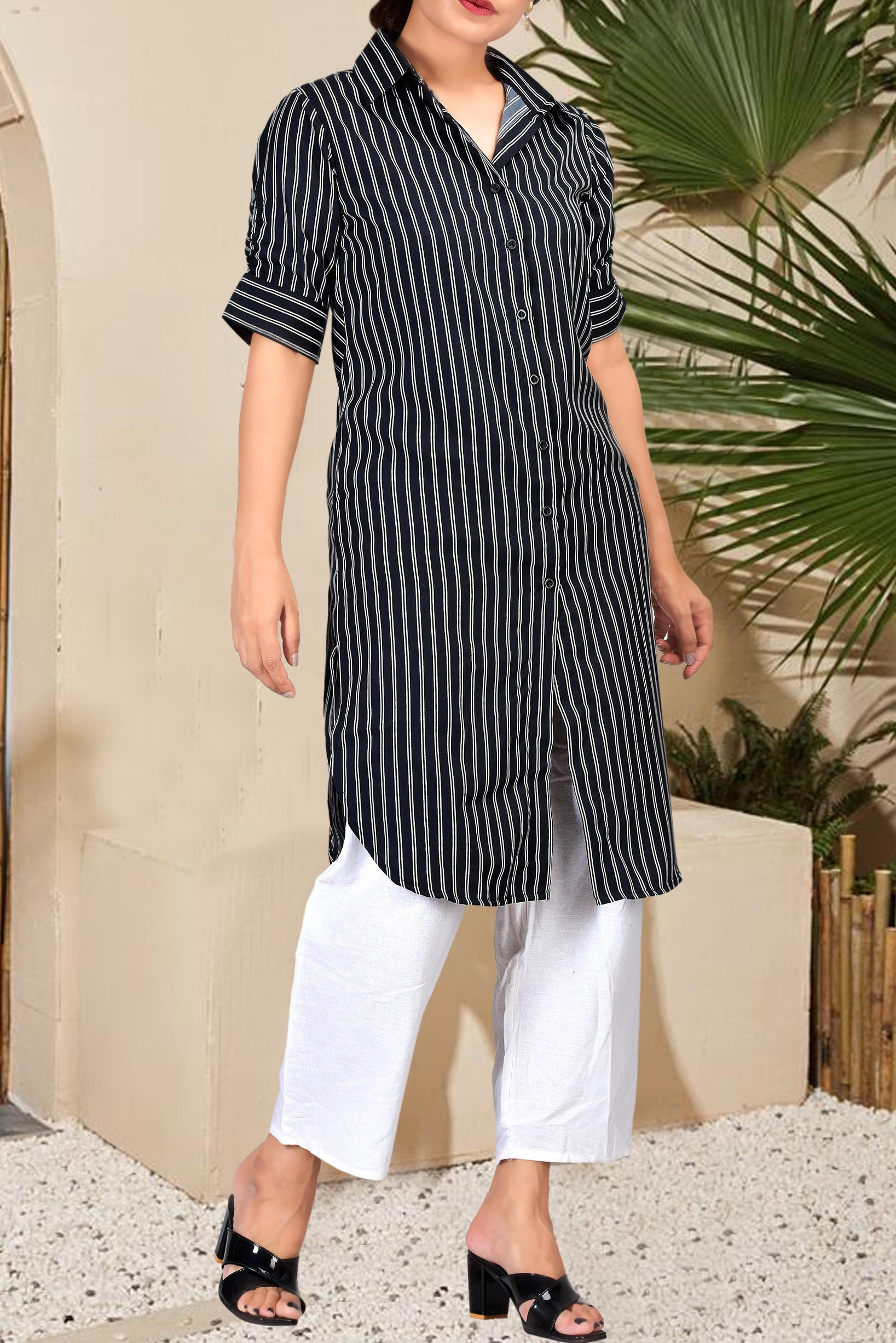 Wednesday affair shirt tunic with trouser