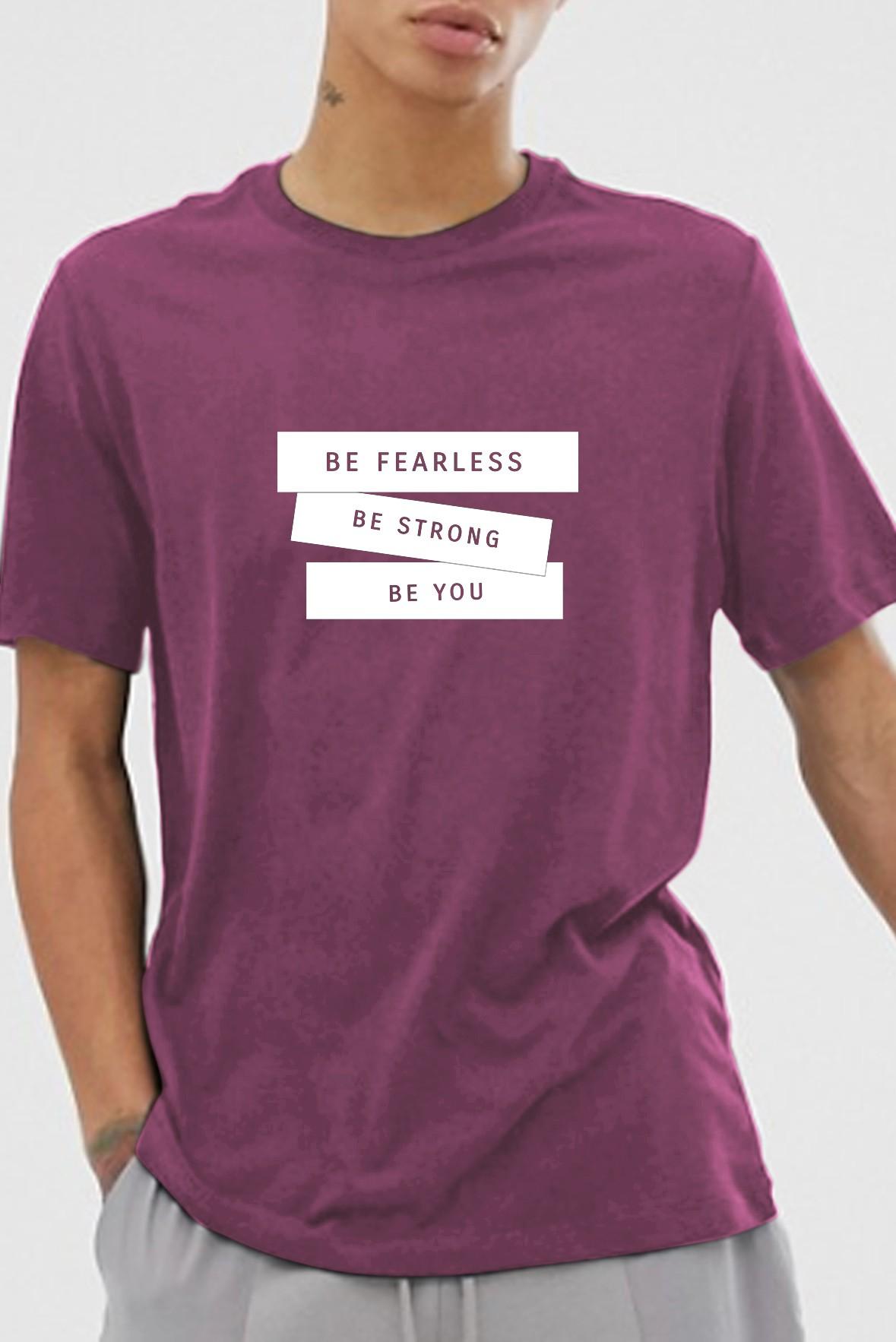 Be fearless purple