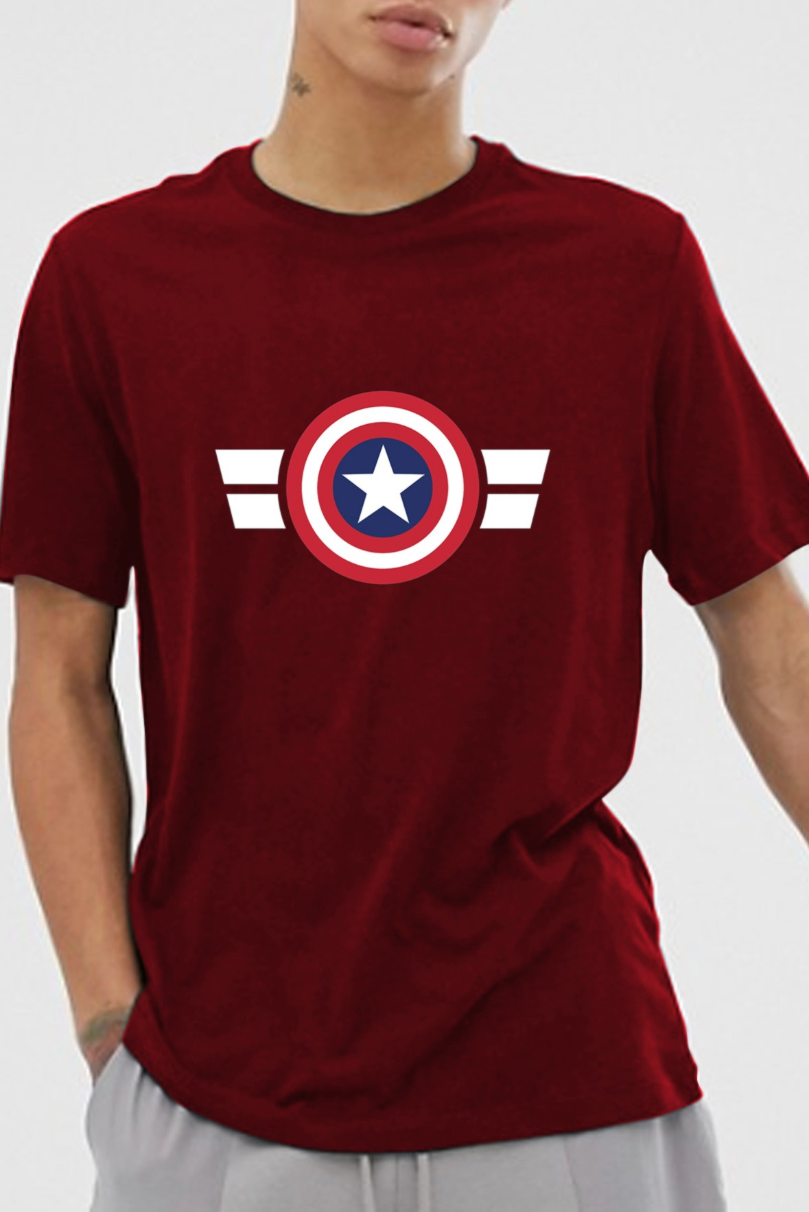 Captain america marsala