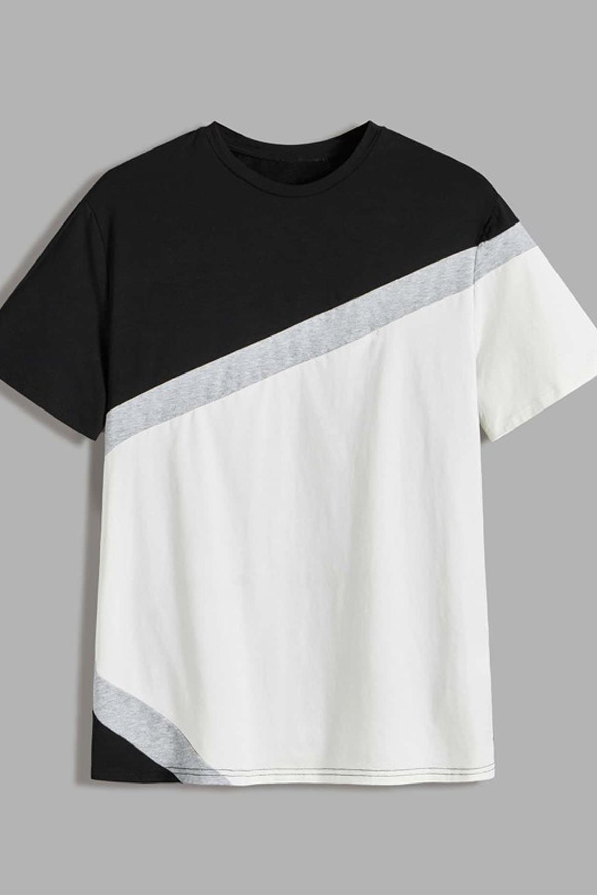 Men-Color-Block-Short-Sleeve-Tee-1