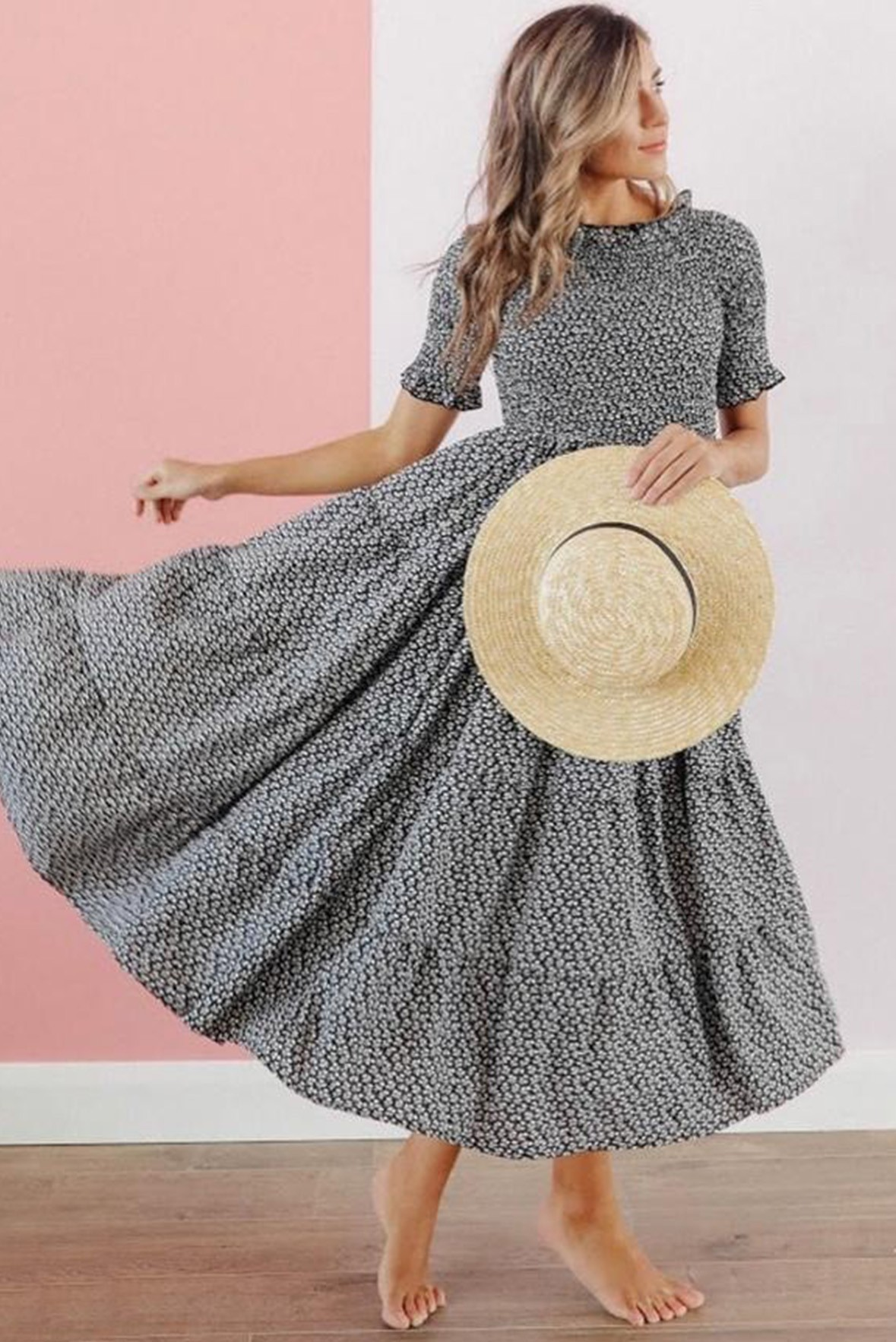 Yearning for yesteryears maxi dress