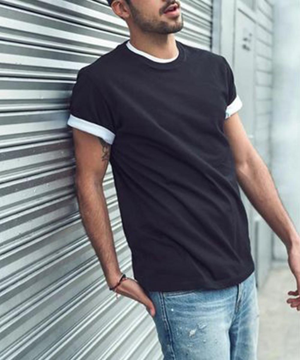 Solid color T shirt for Men