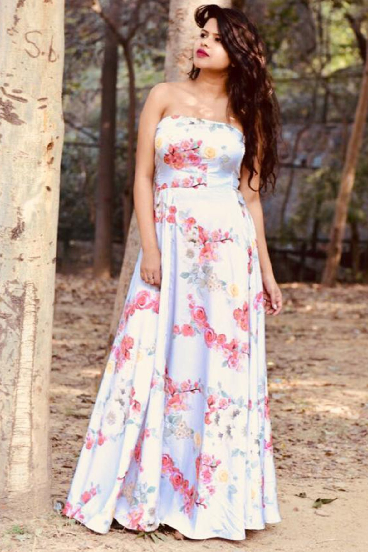 Blossom and bloom dress