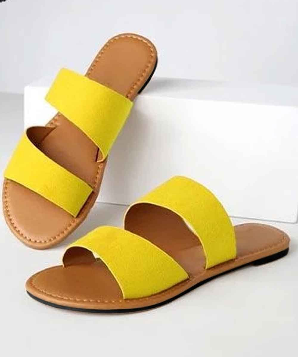 Being Bright Yellow Flats