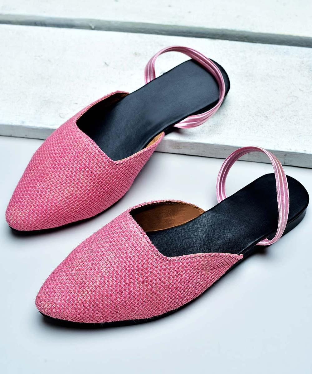 Pink hues mules