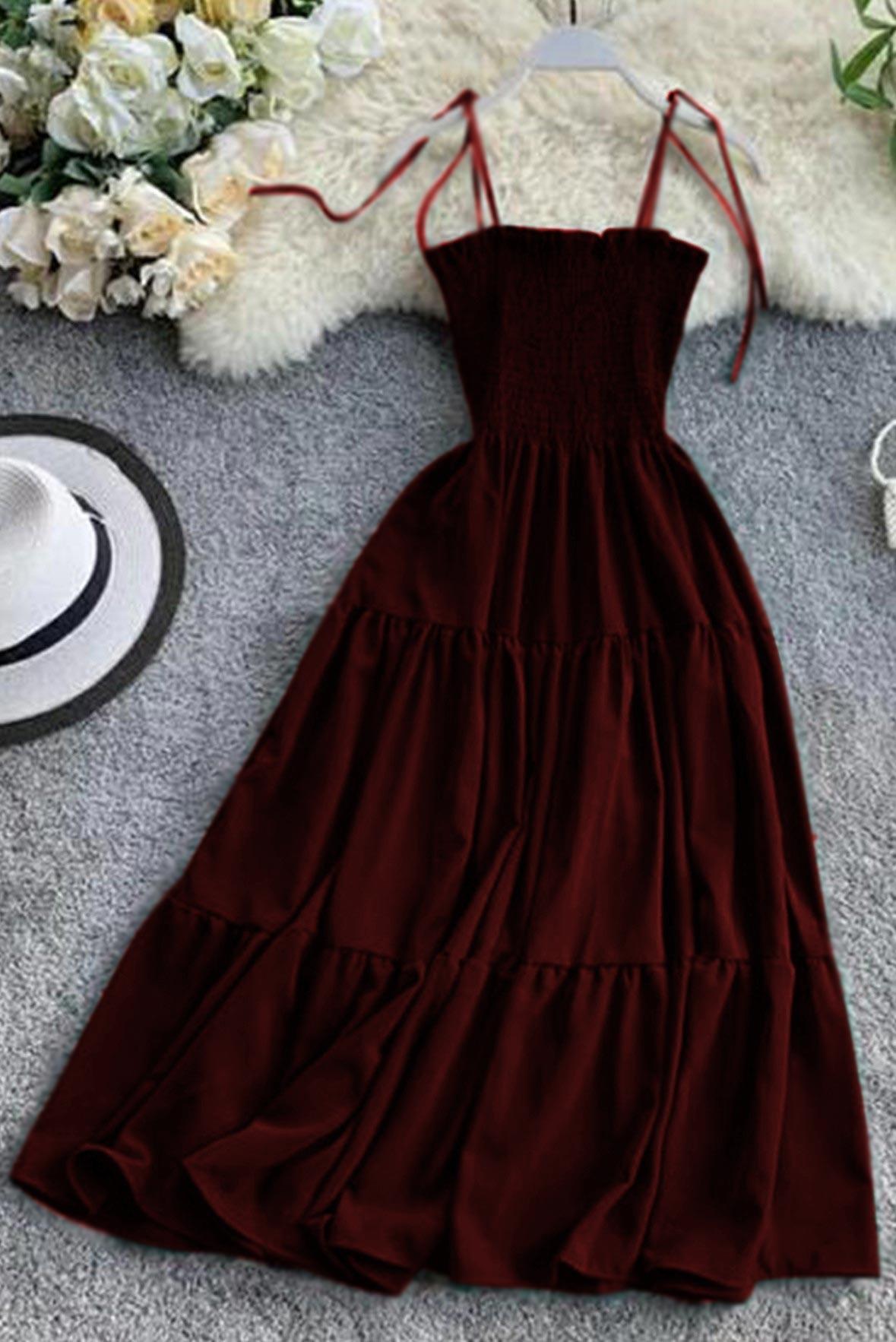 Am I pretty tiered dress