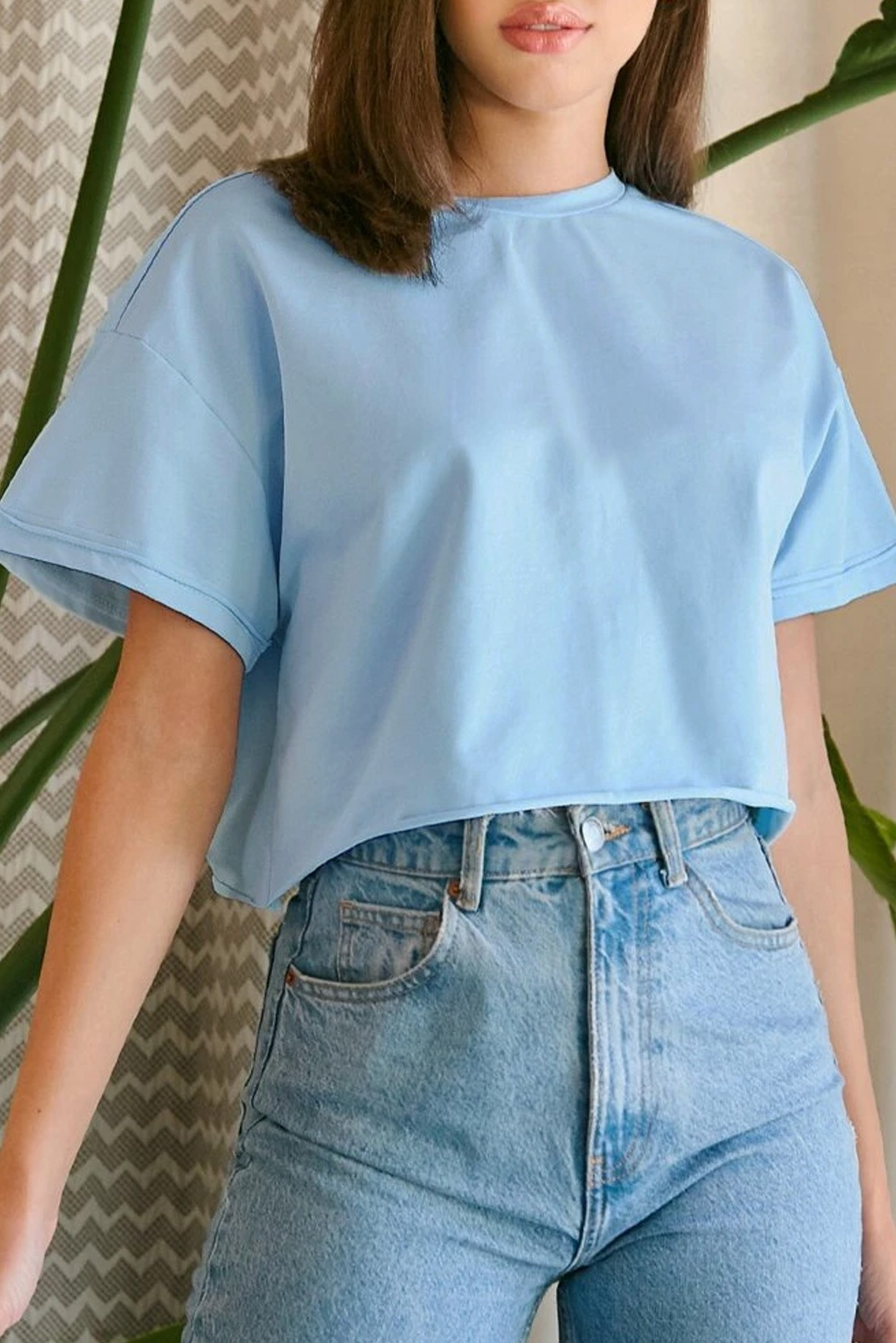 Drop Shoulder Boxy Tee