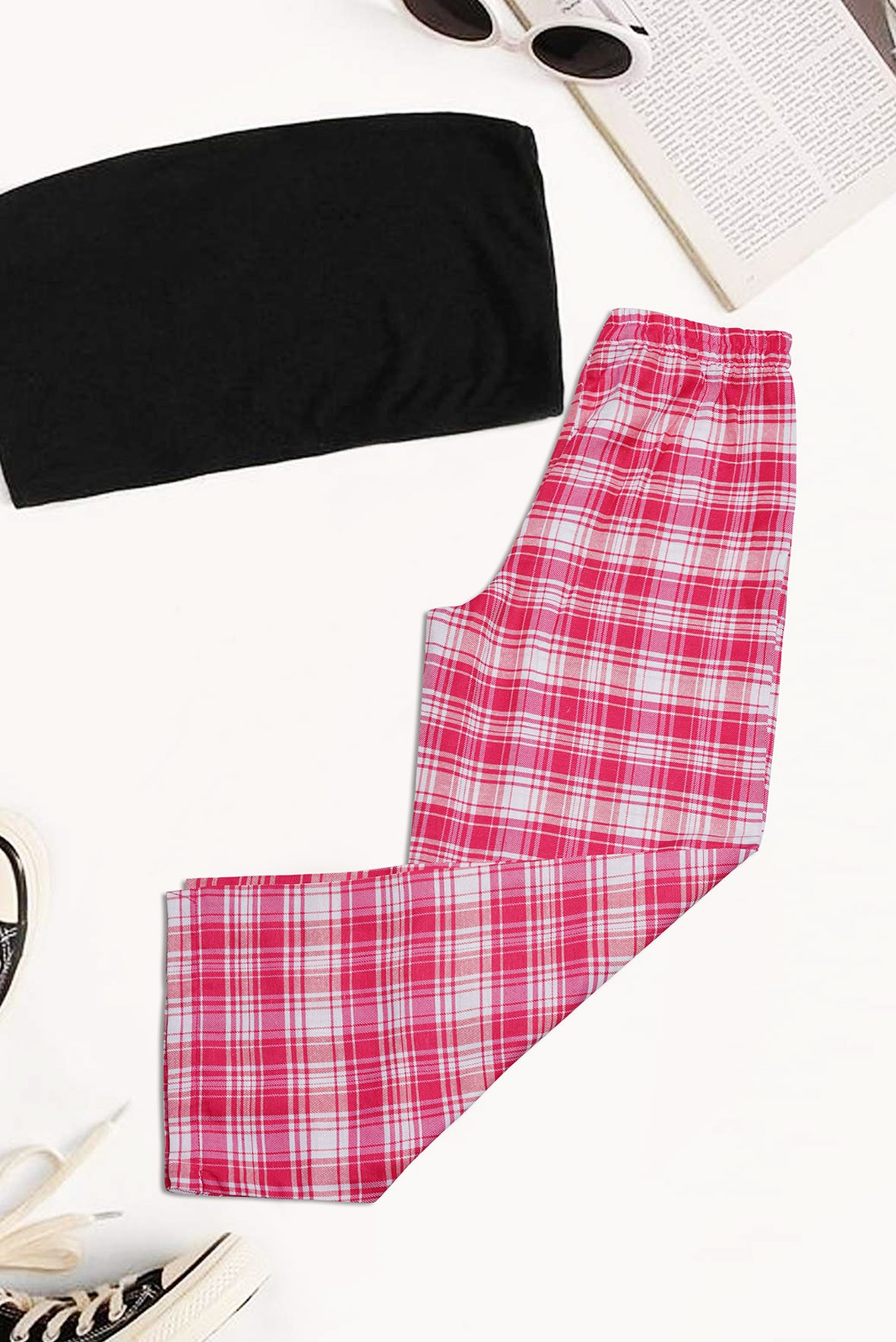 Trouser In Pink